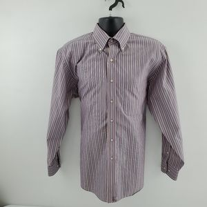 Jos A Bank Dress shirt multi color Travelers P39